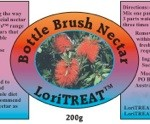 LoriTREAT Bottle Brush Nectar
