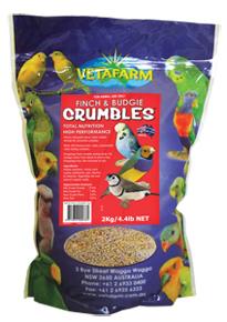 Vetafarm Finch & Budgie Crumble
