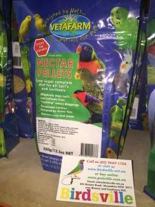 Vetafarm Nectar Pellets