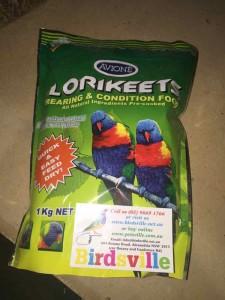 Avione Lorikeet Food