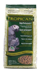 High Performance Granules for Parrots