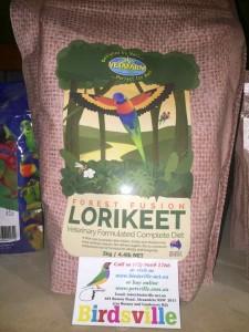Vetafarm Forest Fusion Lorikeet Diet