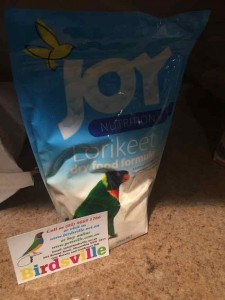 Joy Lorikeet Dry Food Formula